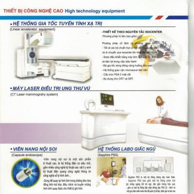 Hệ thống máy Trị xạ, điều trị Ung thư, U biếu